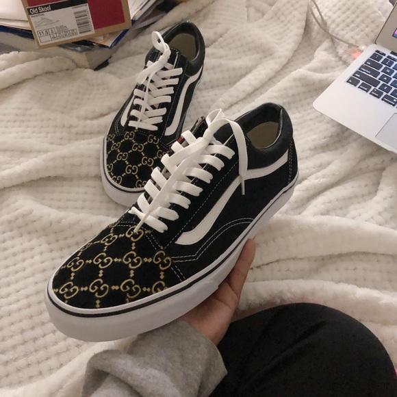 745777144e7 Custom Gucci Vans